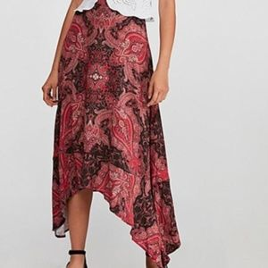Free People At The Shore Skirt Deep Plum Size 6